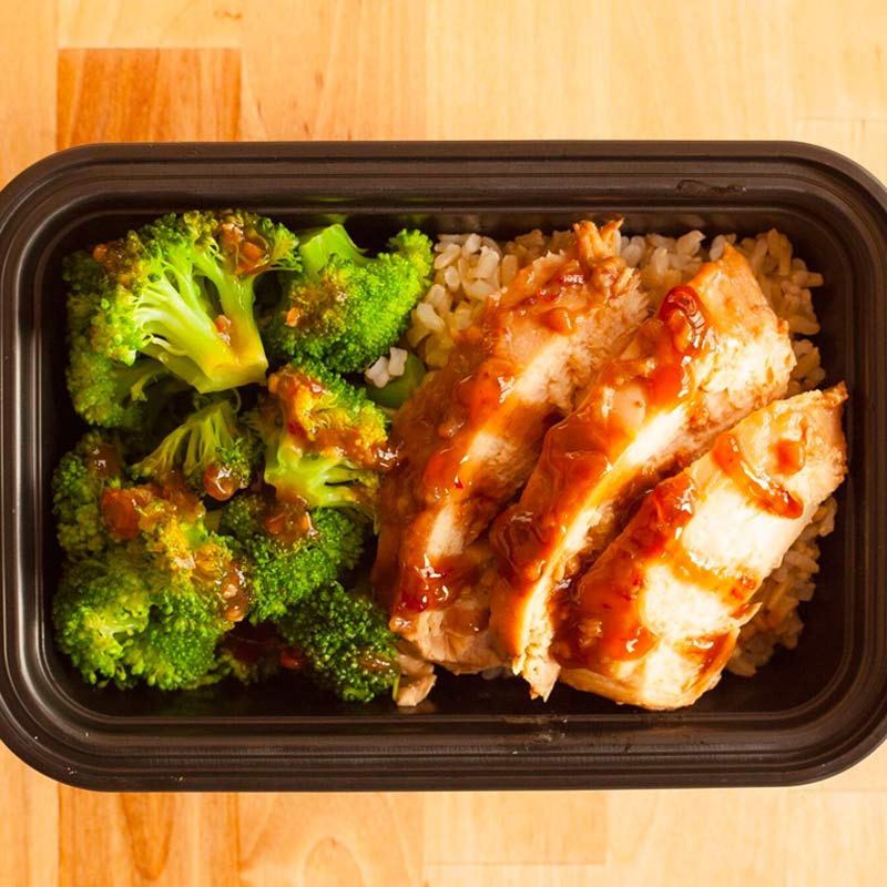 Teriyaki Chicken & Broccoli