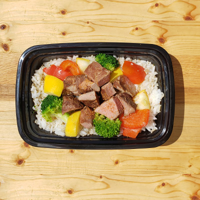 Steak with Peppers & Veggies